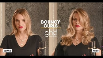 How to create classic bouncy waves using the ghd helios hair dryer