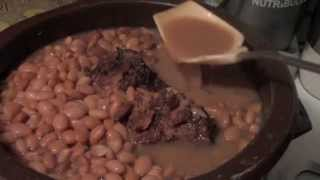 015| Pinto Beans And Smoked Neck Bones On Cooking With Kay
