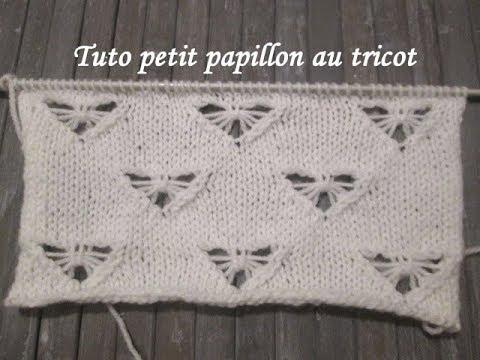 Tuto Petit Papillon Au Tricot Butterfly Knitting Punto Mariposa Dos Agujas