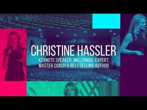 Christine Hassler – Speaker Reel