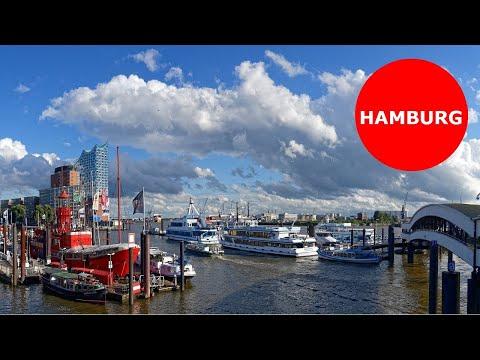 Amburgo - Hamburg city. September 2016 HD.