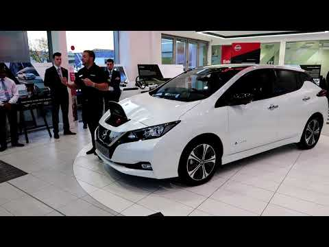 Glyn Hopkins St Albans Launch event of the New 2018 Leaf