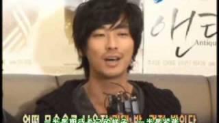 [08.10.28]韓國日報gonews antique採訪報導(韓語中字翻譯版)