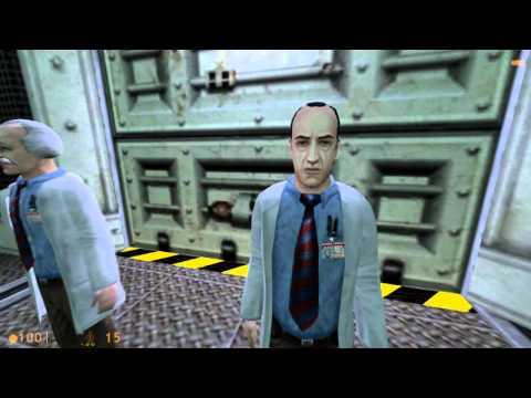 Half-Life Source High Definition Pack Walkthrough Part 1 HD