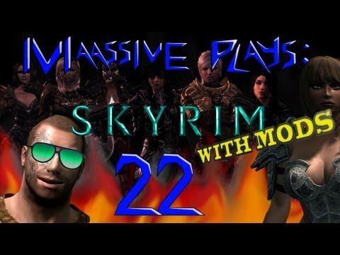 Skyrim With Mods - Part 22 | Vilja Can't Play the Lute!