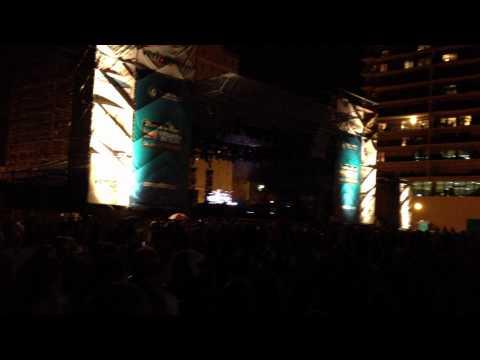 Train- a failed drum solo? 2012 Verizon American Music Festival