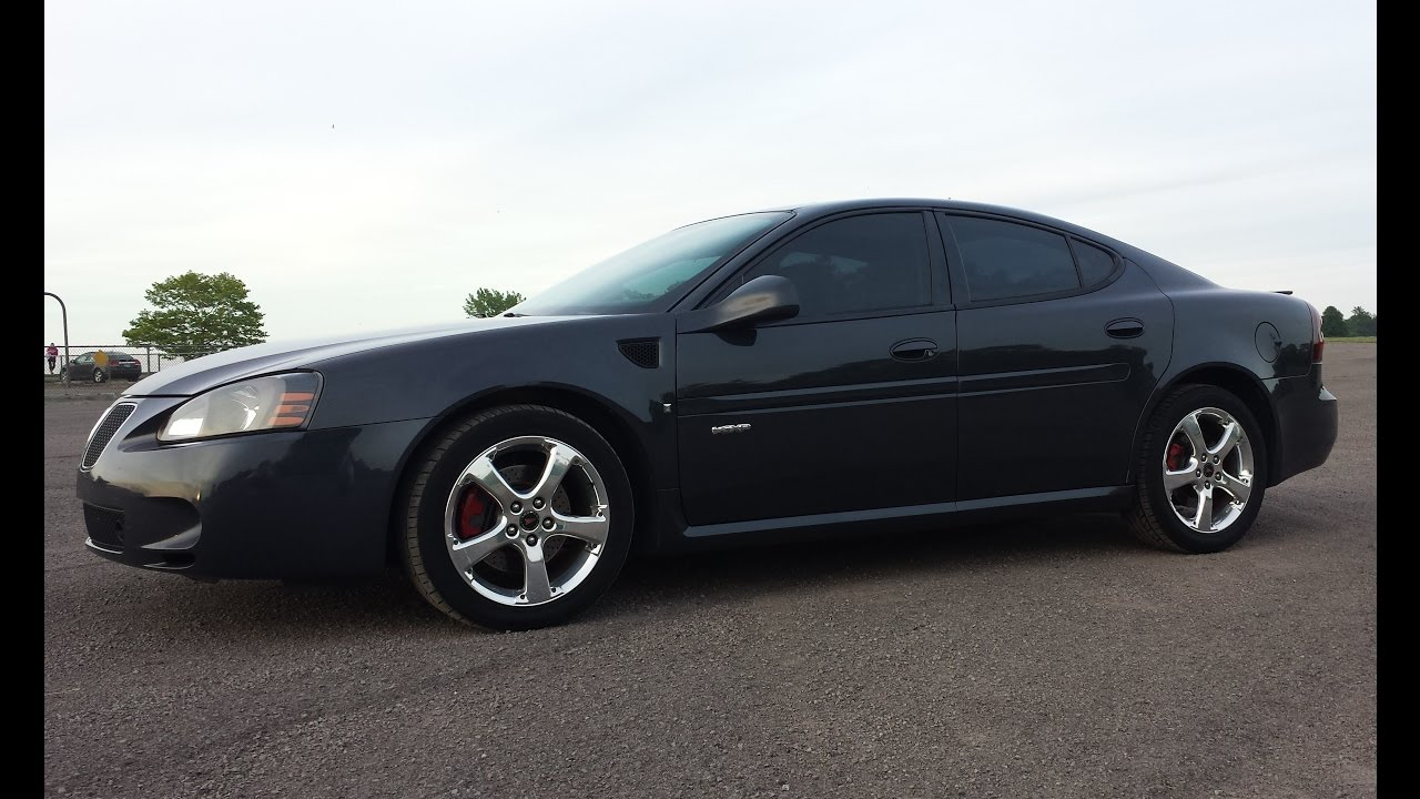 2008 Pontiac Grand Prix Gxp 0 60 Mph No Wheel Spin Youtube