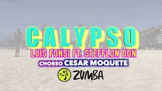 Calypso - Luis Fonsi, Stefflon Don Zumba Choreo By Cesar Moquete
