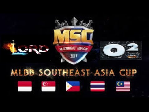 MSC : Indonesia 2017, LORD Vs OXYGEN Final 3rd Position Game#3