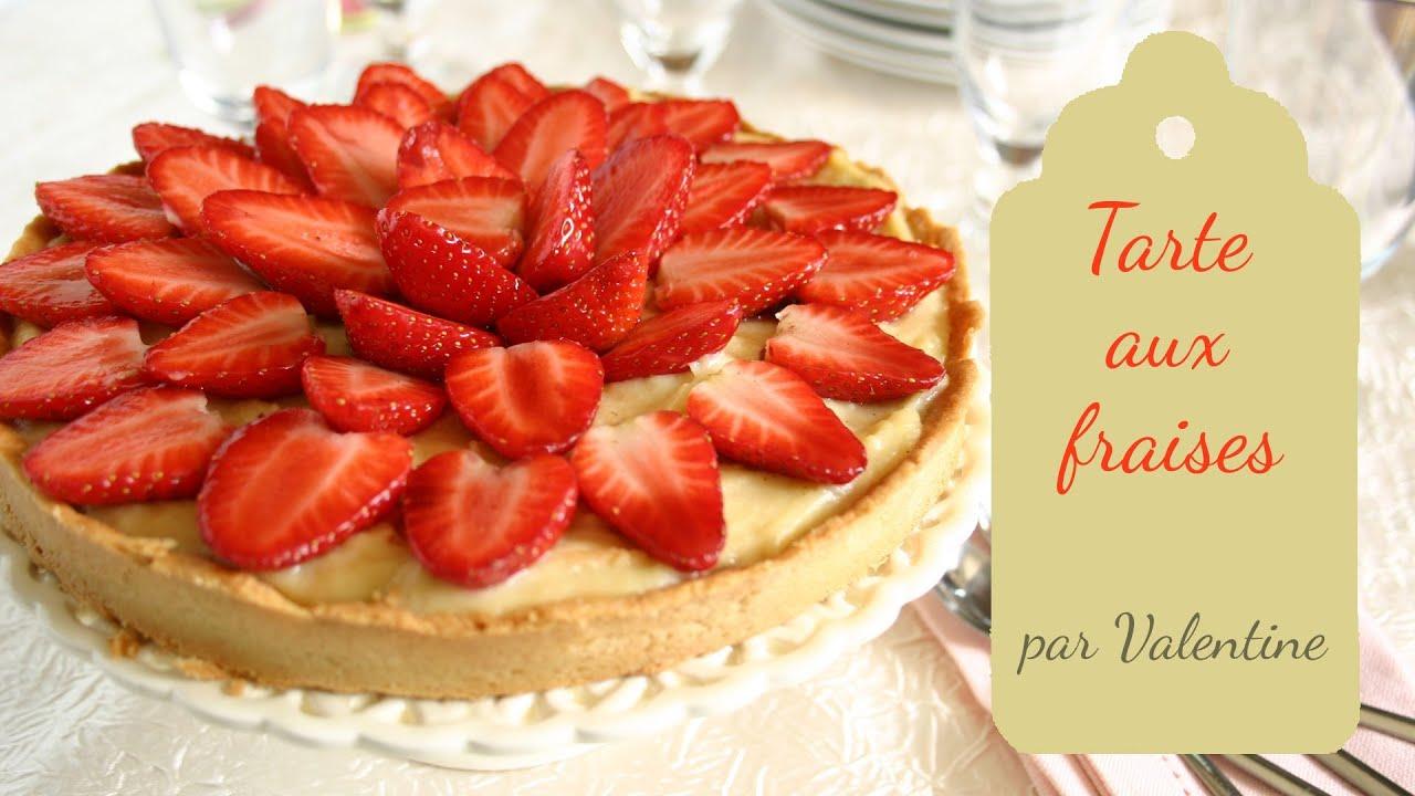 Tarte fraise creme patissiere chef