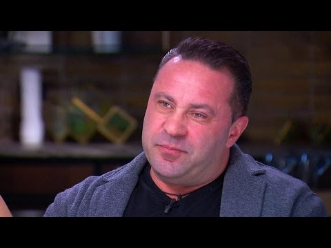 EXCLUSIVE: Joe Giudice Tears Up Over Potential Deportation Following Prison Sentence