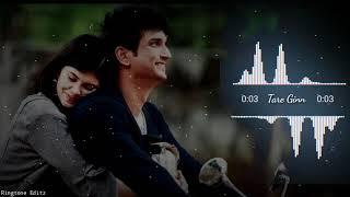 Dil Bechara Song - Tare Ginn Ringtone || Tare Gin || Sushant Singh Rajput || download link include