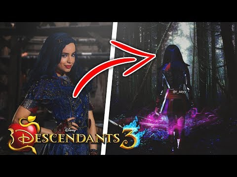 EVIE HAS BEEN CURSED IN DESCENDANTS 3?! - YouTube