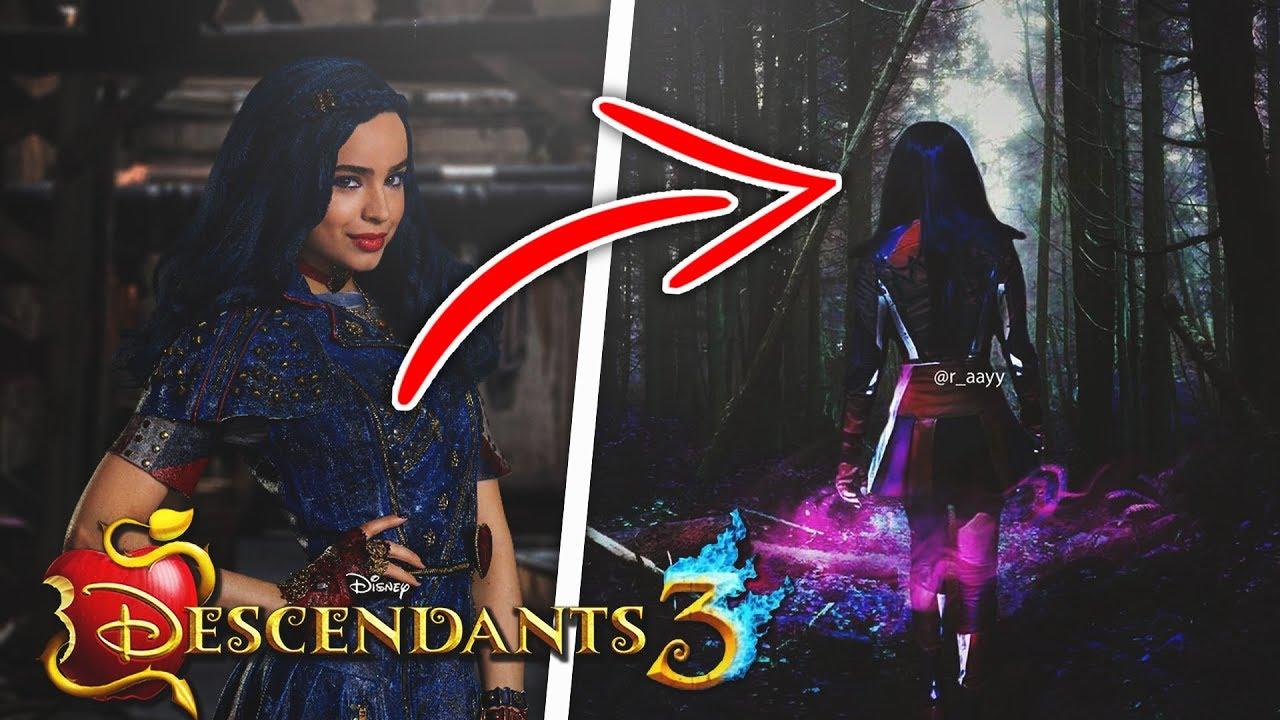 Evie Has Been Cursed In Descendants 3