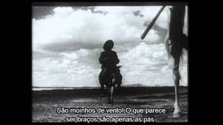Corte do Filme Don Quixote (Orson Welles)