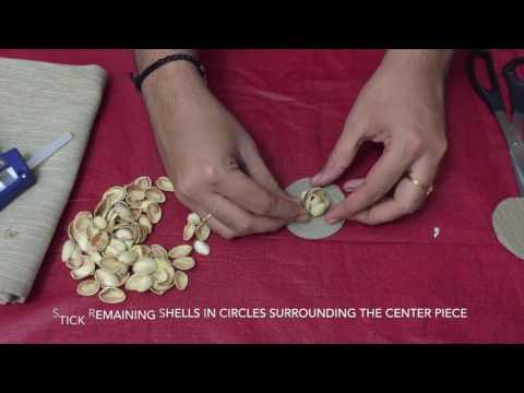 PISTACHIO/PISTA SHELL FLOWERS