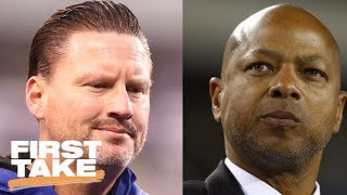 First Take reacts to Giants firing head coach Ben McAdoo and GM Jerry Reese | First Take | ESPN