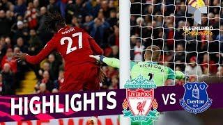 Liverpool vs. Everton: 1-0 Goals & Highlights   Premier League   Telemundo Deportes