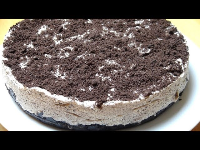 Cookies And Cream Mousse Cake