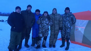 Рыбалка на Рыбинском водохранилище Февраль 2020