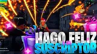 😍 DO I HAPPY To A SUBSCRIBER *LOOK AT YOUR REACTION*😍 - Fortnite Save the World