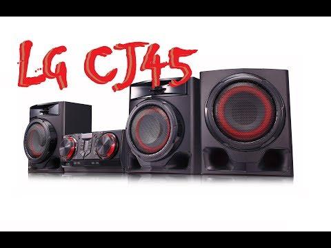 LG CJ45 - Bass Test