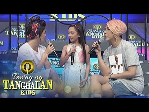 Tawag ng Tanghalan Kids: Vice and Anne learn something new