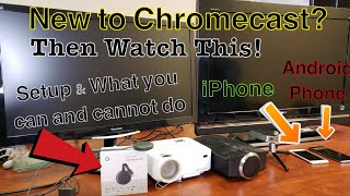 Chromecast 3rd Gen: How to Setup & Use on TV, Computer Monitor, Projector - Step by Step