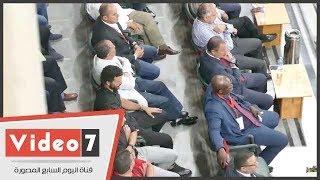 رد فعل الخطيب بعد هداف الأهلي الأول في بطل بتسوانا