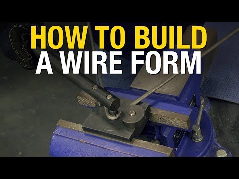 How to make a Wire Form / Buck for fabricating motorcycle gas tank sheet metal - Eastwood