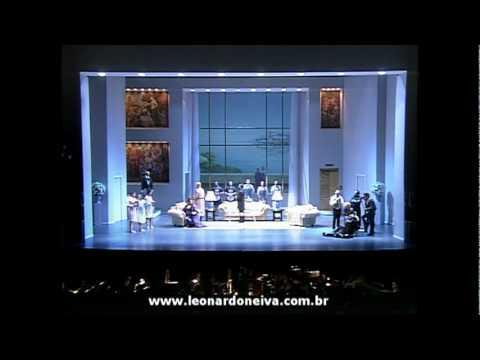 Leonardo Neiva - Ariadne auf Naxos - Prologo - Musiklehrer