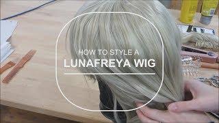 Arda Wigs Lunafreya Tutorial