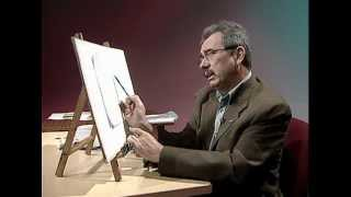 How to draw a wine glass 1 / Cómo dibujar una copa de cristal 1