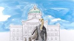 Aline Lüthi, Juristin und Nachwuchsforschende der UZH