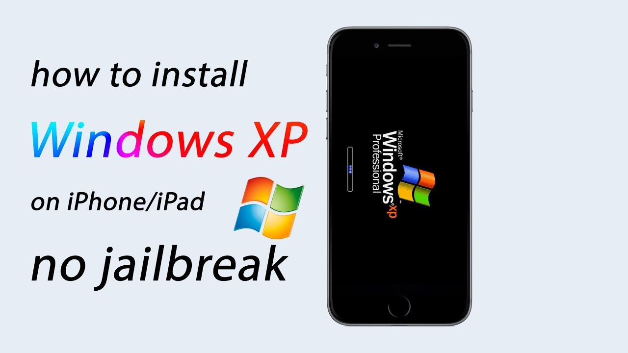 How To Install Windows XP On iPhone (No Jailbreak)