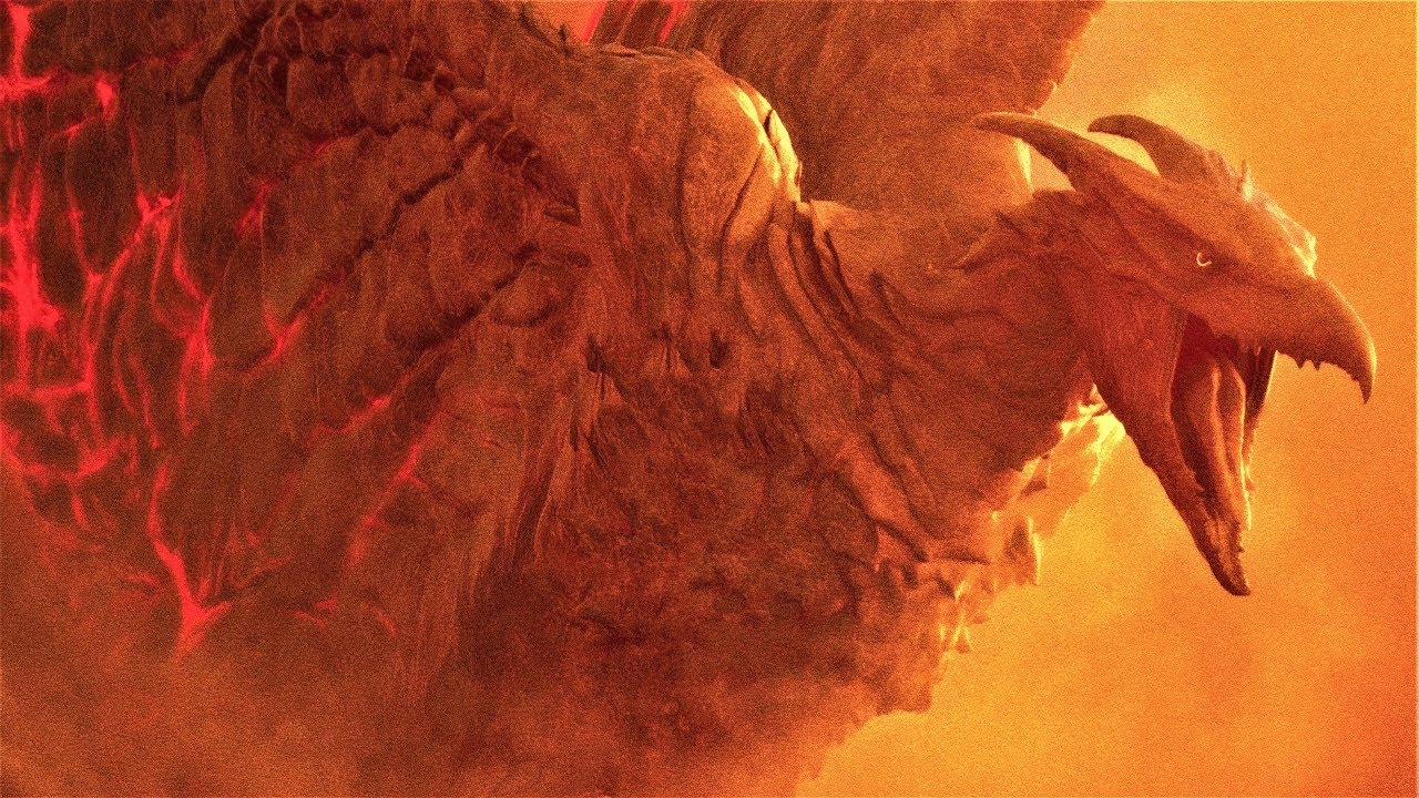 Download Godzilla King of the Monsters - Rodan Vs King Ghidorah Fight Scene