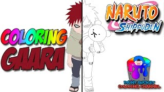 Gaara Speedpaint - Naruto Anime Speed Coloring