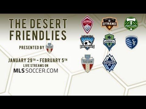 Desert Friendlies: Houston Dynamo vs Colorado Rapids