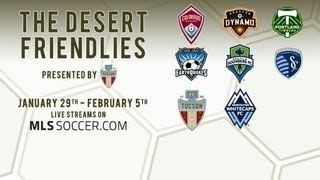 Desert Friendlies: Houston Dynamo vs Colorado Rapids