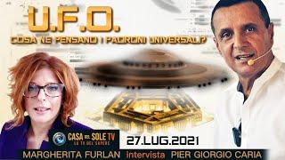 #UFO: cosa ne pensano i padroni universali? - intervista di M. #Furlan della CASA DEL SOLE TV