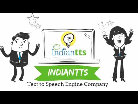 India TTS, Text to speech Indian Voice Software Online, Text to