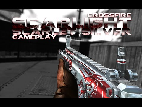 CrossFire SCAR Light-Scarlet Silver (Ultimate Red Silversmith) ll 10DarkGamer