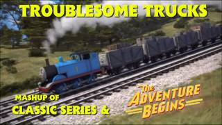 Troublesome Trucks Mashup of Classic Series & The Adventure Begins