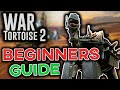 How to progress faster. Beginners Guide and Tips [War Tortoise 2]