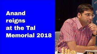 Viswanathan Anand vs Daniil Dubov Tal Memorial 2018