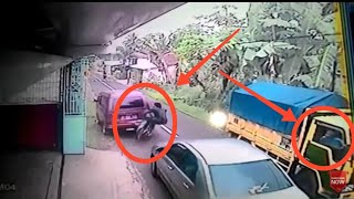 CCTV trafic crash indonesia