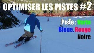 Ski-OPTIMISER les pistes #2 : Conseils Verte, bleue, rouge, noire par Morgan Petitniot