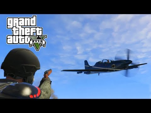 GTA 5 Online PC | Rockets vs Planes | ONE SHOT PISTOL