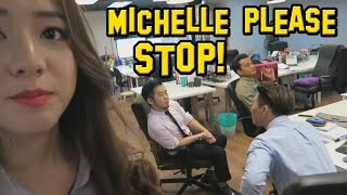 Michelle Please Stop Ernest Ng Bro