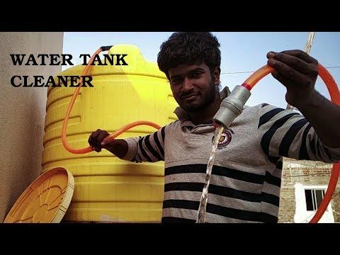 Simplest way to clean WATER TANK l தண்ணீர் தொட்டி சுத்தம் ஈசியா பன்னலாம் l தண்ணி தொட்டி கிளீனிங்